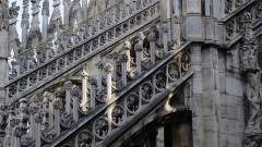 Duomo Terrace By Stairs Guided Tour