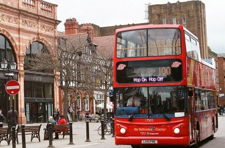 Chester City Sightseeing Tour - Ticket 24 hours