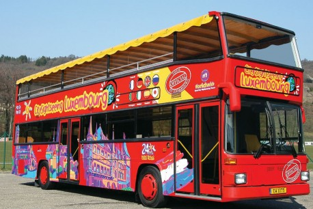 Luxembourg City Sightseeing Tour 24 hours