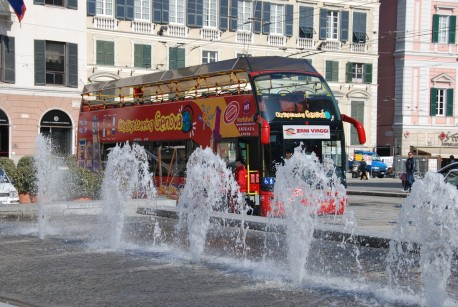 Genova City Sightseeing Tour 24hr + 24hr Free