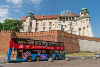 Krakow City Sightseeing and Boat 24 hours