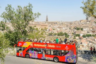Toledo City Sightseeing Tour - Ticket 24 hours