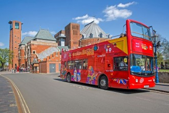 Stratford Upon Avon City Sightseeing Tour 24 horas