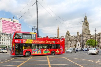Glasgow City Sightseeing Tour 1 Giorno