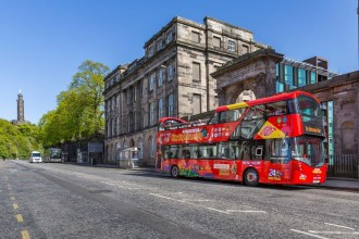 Edinburgh City Sightseeing Tour 24 ore