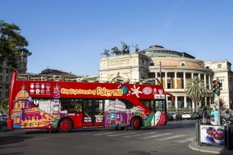 Palermo City Sightseeing Tour - Ticket 24 hours
