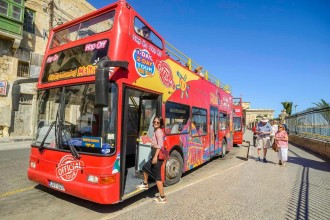 Malta City Sightseeing Tour 1 Giorno