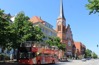 Kiel City Sightseeing Tour - Ticket 24 hours
