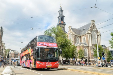 Amsterdam City Sightseeing autobús y barco 24 horas