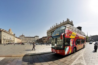 Turin City Sightseeing Line A and B - Ticket 24 hours