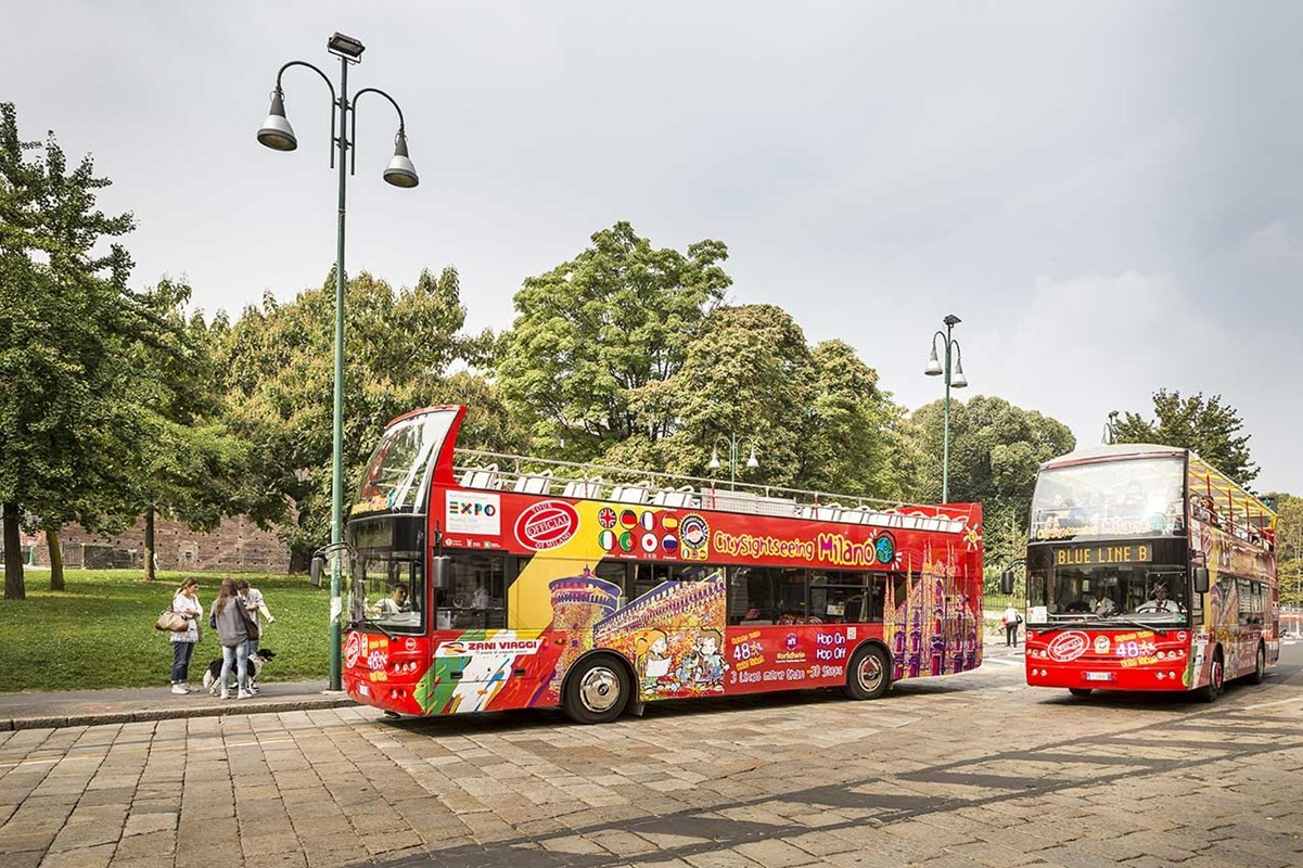 City Sightseeing Milano - Hop On Hop Off - Ticket 24hrs