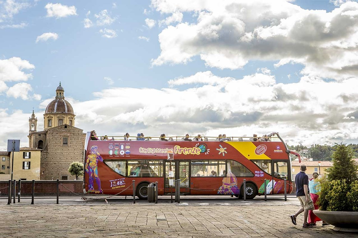 City Sightseeing Tour Florence - Ticket 24 hours