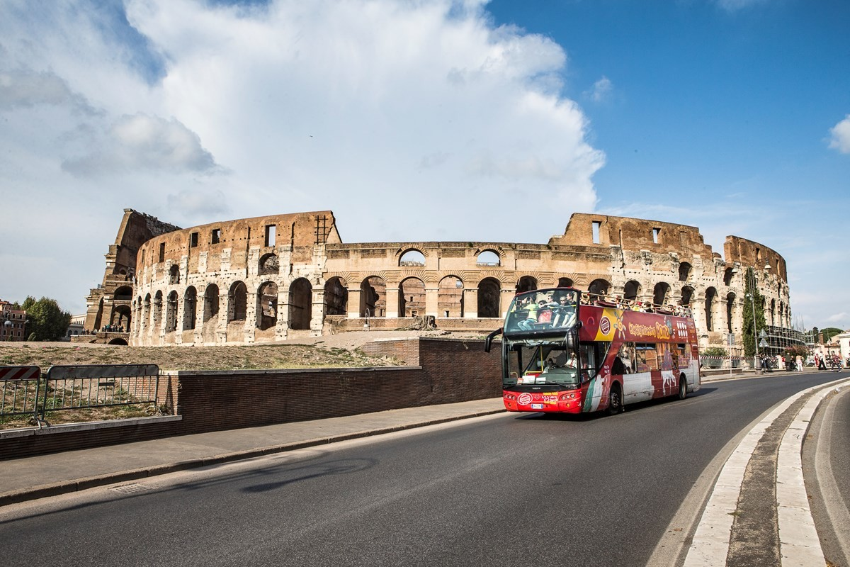Rome City Sightseeing Tour - Ticket 24h