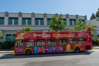 Los Angeles e Hollywood City Sightseeing Tour 24 Ore