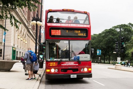 Chicago City Sightseeing Downtown, Zoológico Wrigley Lincoln Park y Tour Nocturno