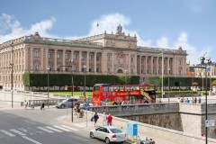 Stockholm City Sightseeing Bus Tour 24 ore