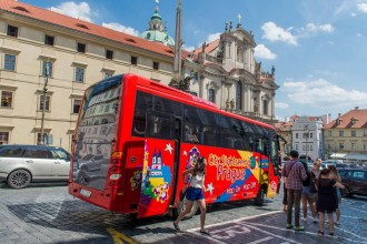 Prague City Sightseeing Bus Tour - Ticket 24 hours