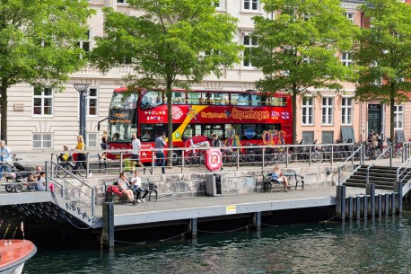 Copenhagen City Sightseeing Mermaid Tour 72 hours