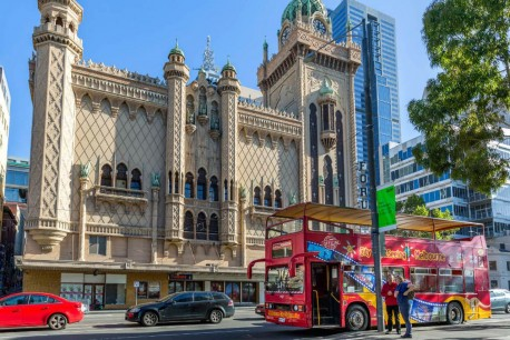 Melbourne City Sightseeing Tour 24 hours