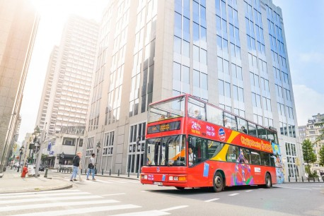 Brussels City Sightseeing Tour - Ticket 24 hours