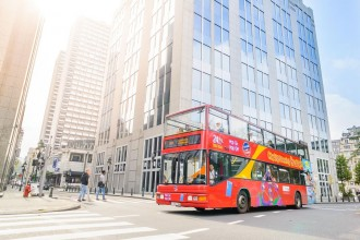 Brussels City Sightseeing Tour - Biglietto 48 ore