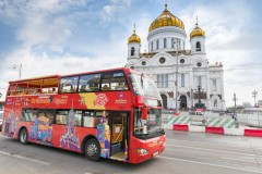 Moscow City Sightseeing Bus Tour 48 Ore