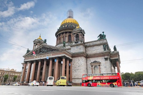 St Petersburg City Sightseeing Bus Tour 48 Ore