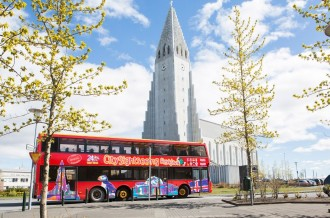 Reykjavik City Sightseeing Tour - Ticket 24 hours