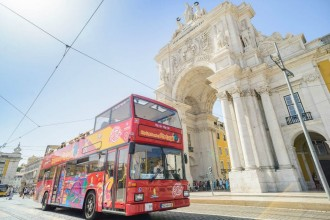 Lisbona City Sightseeing Tour - Biglietto 48 ore