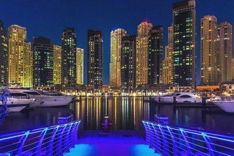 Dubai Marina: Dhow Cruise with Dinner
