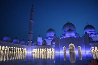 Abu Dhabi Mosque & Louvre Museum with Lunch from Dubai