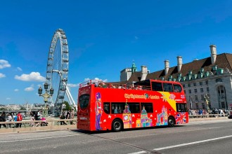 London City Sightseeing - Ticket 24 hours