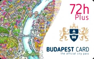 Budapest Card Plus 72 Hours