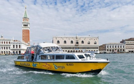 Ferry Boat Alilaguna - One way ticket from Cruise Terminal to Venice and vice versa