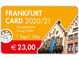 Frankfurt Card 1 Day Group (Up To 5 People)