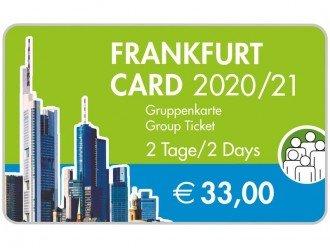Tarjeta de Frankfurt 2 días grupo (hasta 5 personas)
