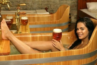 Beer Spa with unlimited beer and massages