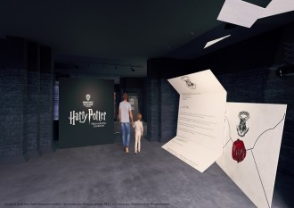Ticket for the Photography exhibition of Harry Potter