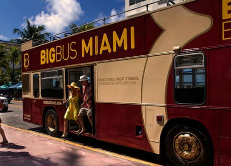 Miami Big Bus Deluxe Tour 2 Giorni + 1 Giorno