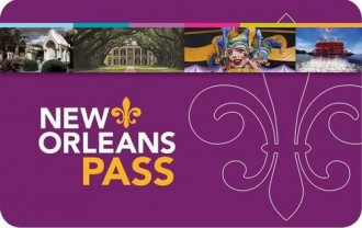 New Orleans Pass 1 Giorno