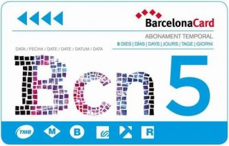 Barcelona Card 5 Days