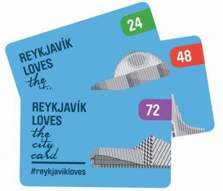 Reykjavik City Card 72 Hours