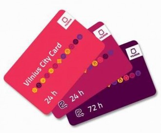 Vilnius City Card With Transport 72 Hours