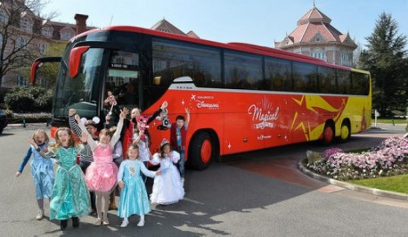 Paris Magical Shuttle CDG or Orly Airports to/from Disneyland One Way