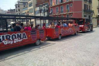 Girona City Tour Hop On Hop Off Train 1 Day