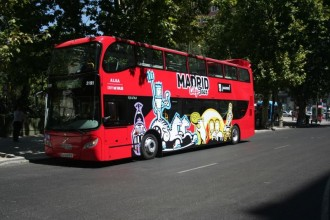 Madrid City Tour Hop On Hop Off 2 Días