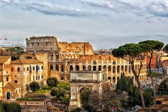 Rome By Train with Colosseum and Roman Forum from Florence
