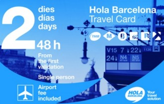 Hola Barcelona Travel Card - Transport Pass 48 hours