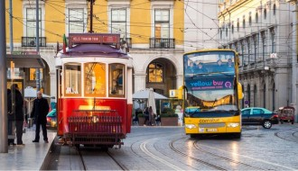 Lisbon All in one Bus + Boat + Tramcar Tour 72 Ore