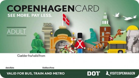 Copenhagen Card 72 Hours (2 CHILD 0-9 Years Inclusive)